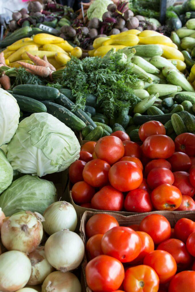 Żywność ekologiczna - owoce i warzywa